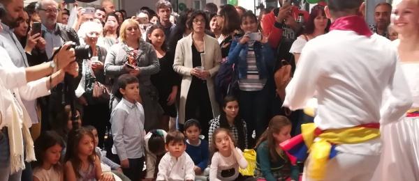 Más de 250 colombianos asistieron a la II Velada de Integración organizada por el Consulado de Colombia